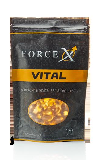 Force X Vital - Prírodný výživový doplnok na posilnenie imunity a zlepšenie erekcie