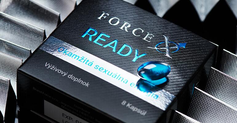 Force X READY - okamžitá sexuálna energia výživový doplnok